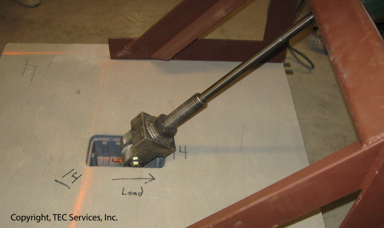 Anchor Systems Testing Lab, On-Site Anchor Testing, ASTM