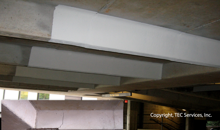 Parking Garage Structural Assessment: Carbon Fiber Wrapping Repair of Cast-in-Place Beam