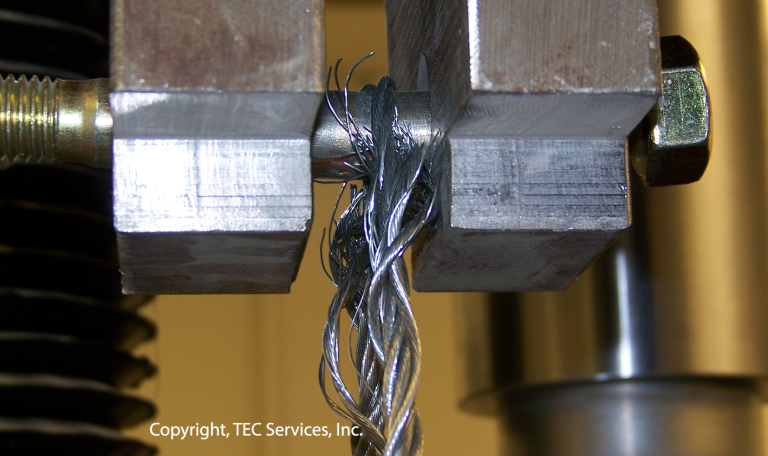 Steel Cable Load Testing