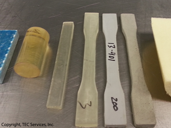 Epoxy Test Samples